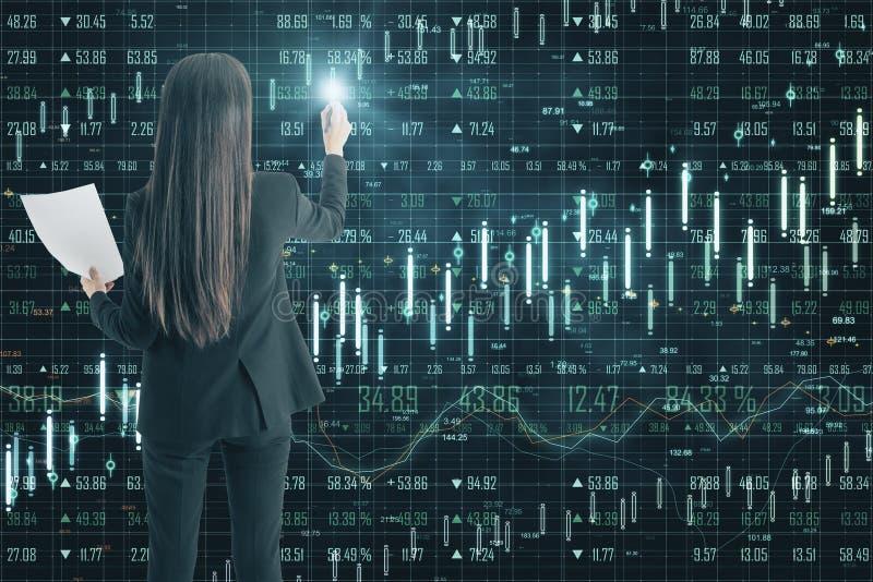 Technologie, software en economieconcept royalty-vrije stock afbeeldingen