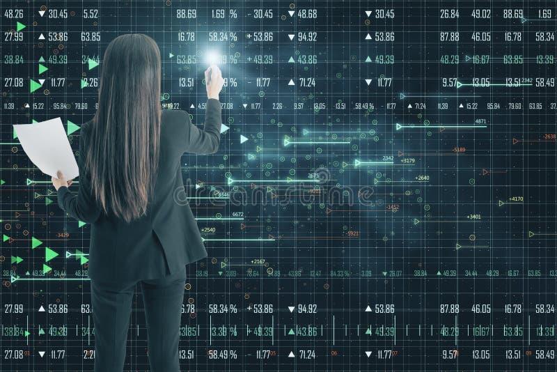 Technologie, software en Webconcept stock fotografie