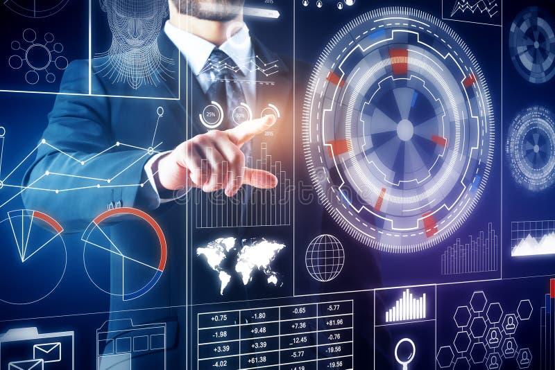 Technologie- und Innovationskonzept lizenzfreies stockbild