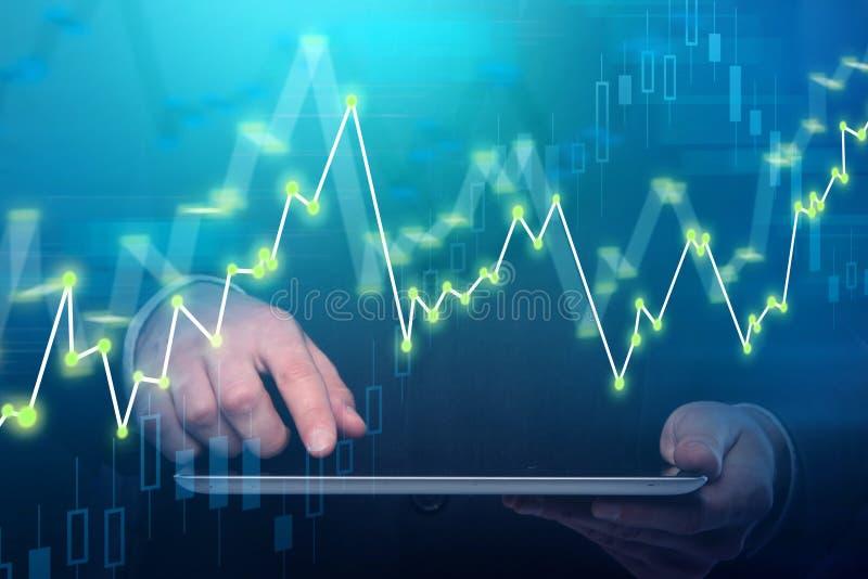 Technologie- und Investitionskonzept stockfoto