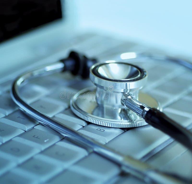 Download Technologie und Medizin stockbild. Bild von communicate - 3903255