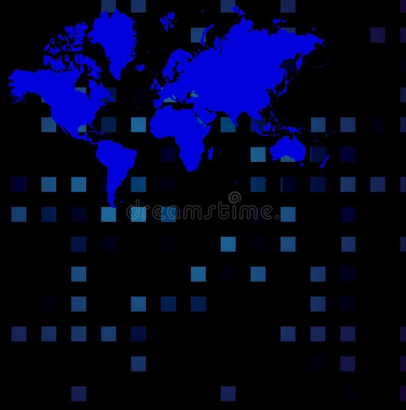 Technologie van de wereld royalty-vrije illustratie
