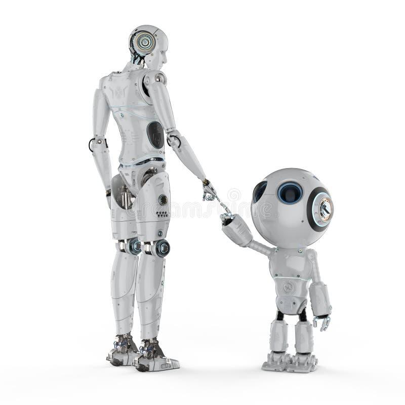 Technologie-Verbindungs-Konzept stock abbildung