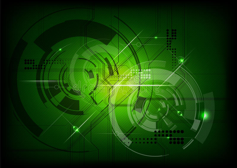 Technologie verte illustration de vecteur