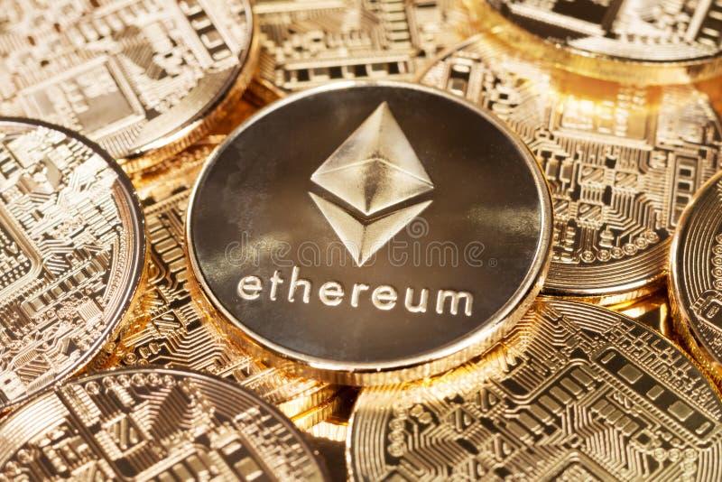 Technologie von ethereum lizenzfreies stockfoto