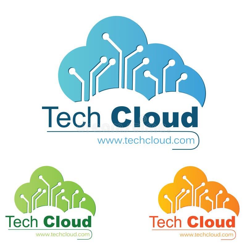 Technologie-Zeichen stock abbildung