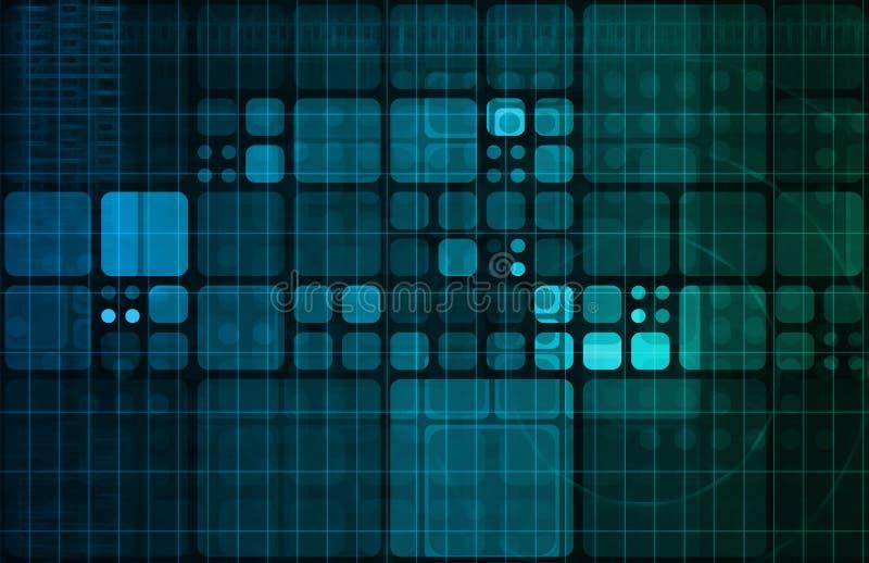 Technologie-Zusammenfassung lizenzfreie abbildung