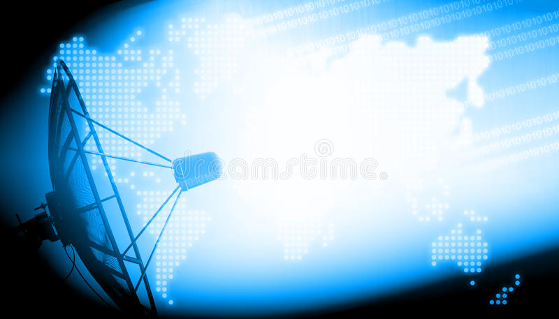 Technologiehintergrund stockfotografie