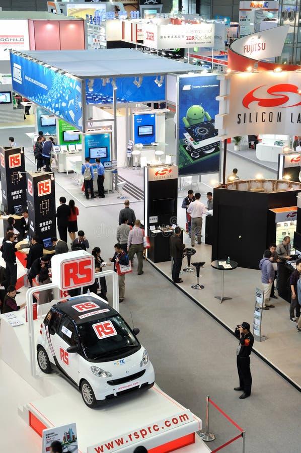 Technologiemesse und -ausstellung in China lizenzfreie stockfotos