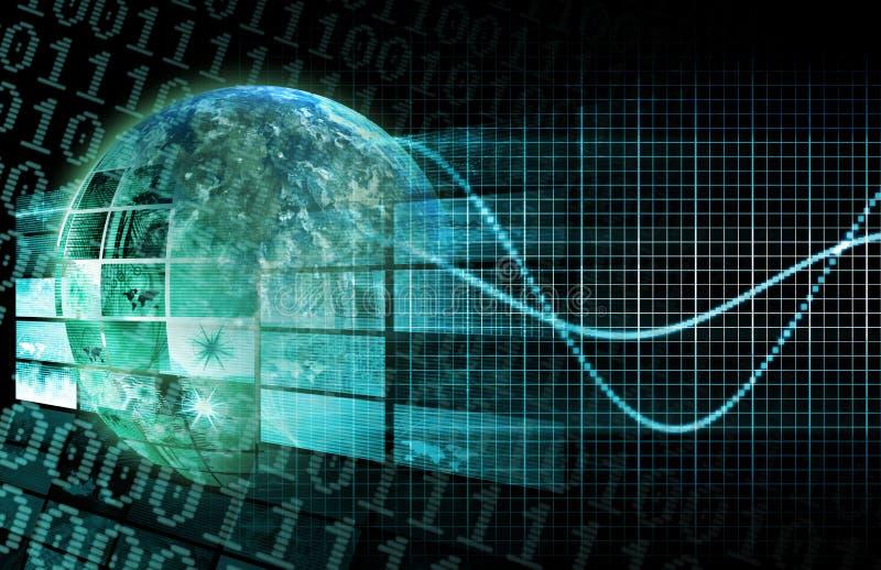 Technologies apparaissantes illustration de vecteur