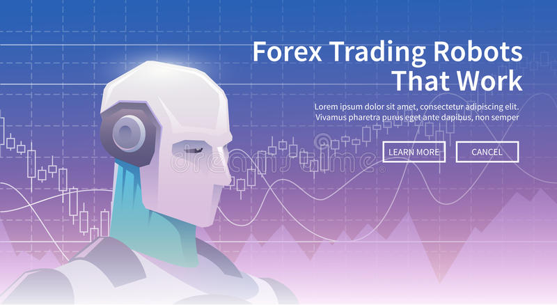Technologies in business and trading. vector illustration