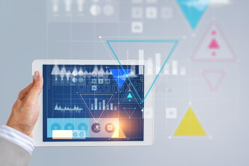 Technologies de connexion pour des affaires illustration stock
