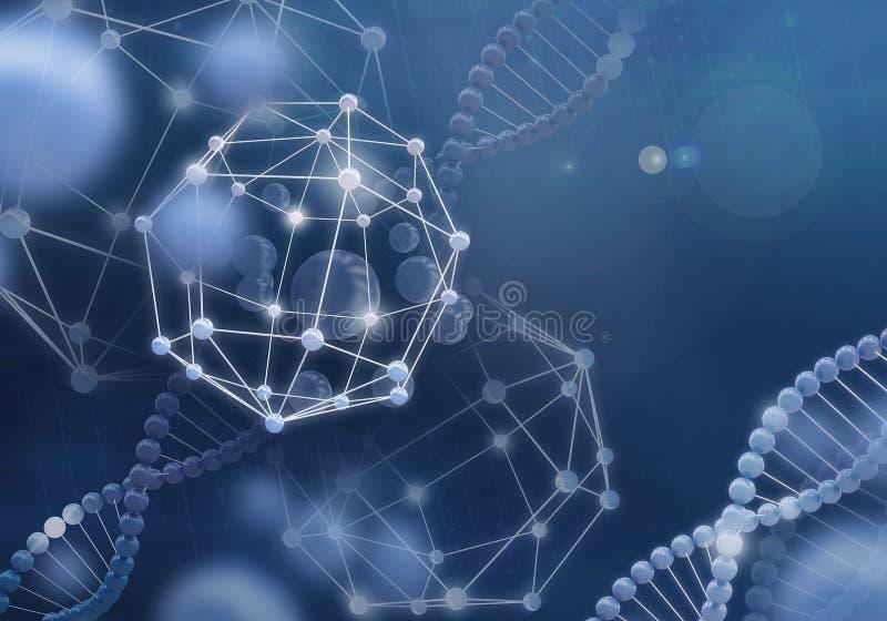 Technologies innovatrices en science et médecine images libres de droits