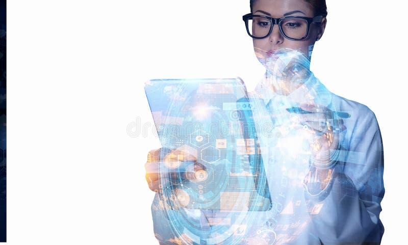 Technologies innovatrices pour la science et la médecine illustration libre de droits