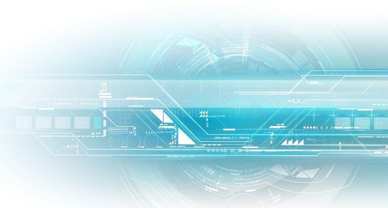 Technologies secrètes du monde - groupe illustration de vecteur