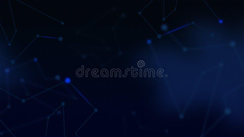 Technologii Abstrakcjonistyczny tło, nowożytny korporacyjny tło obraz stock