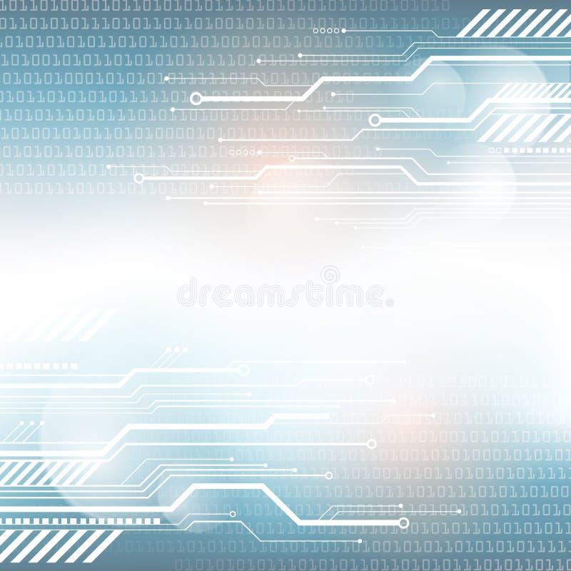 Technologii cyfrowej tło ilustracja wektor