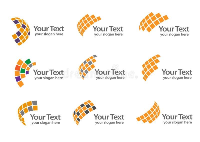 Technologii firmy logo zdjęcia royalty free