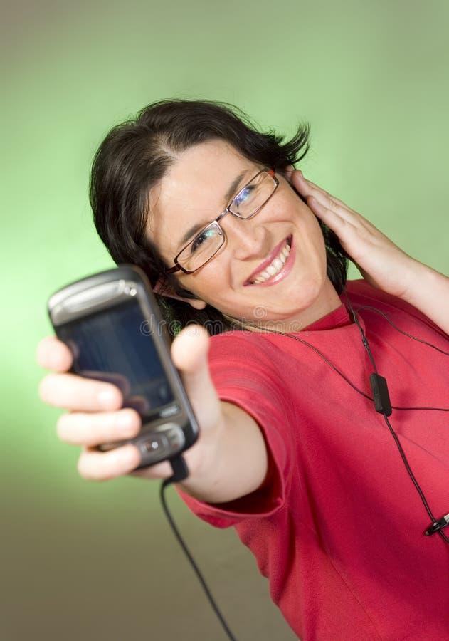 technologii komunikacyjnej kobiety potomstwa obrazy royalty free