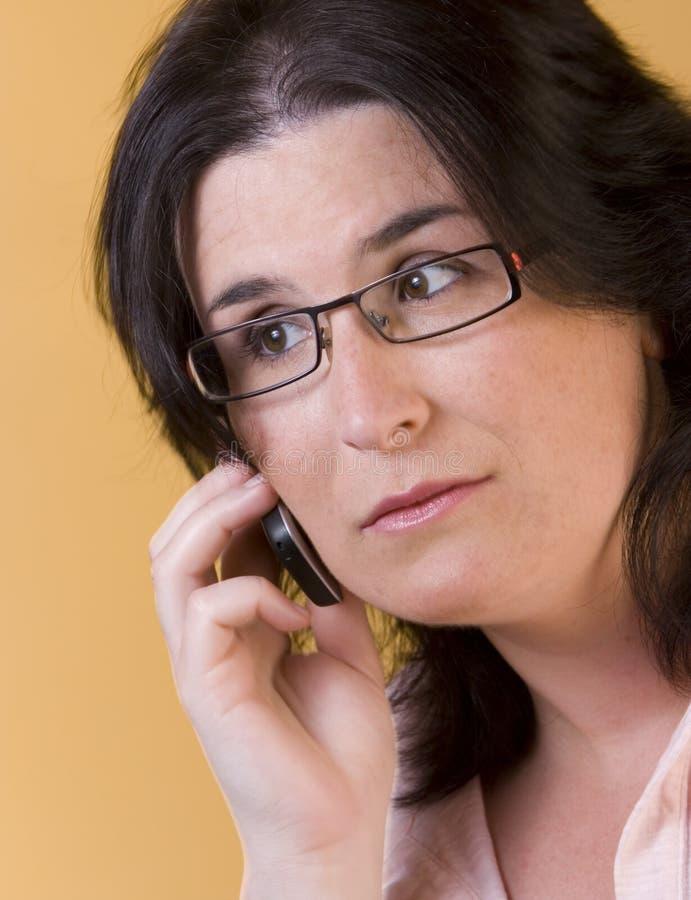 technologii komunikacyjnej kobiety potomstwa obraz royalty free