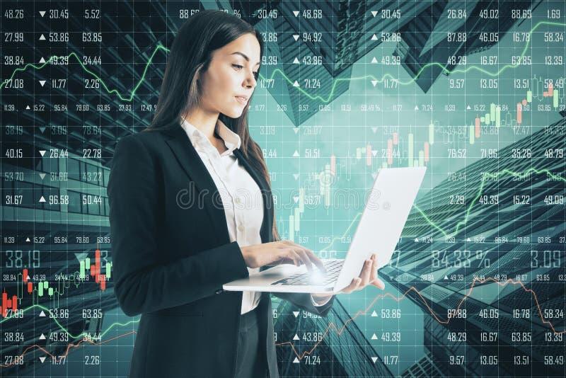 Technologii, oprogramowania i finanse pojęcie, zdjęcie stock