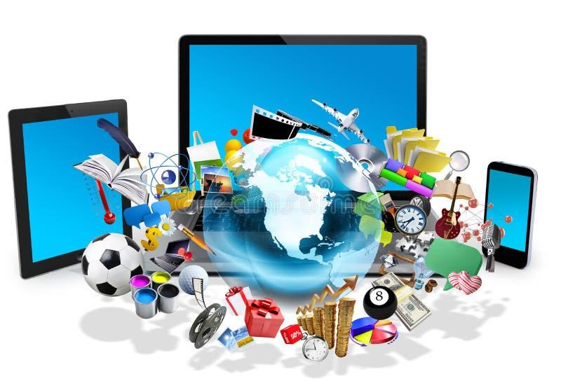 Technologii pojęcie ilustracji