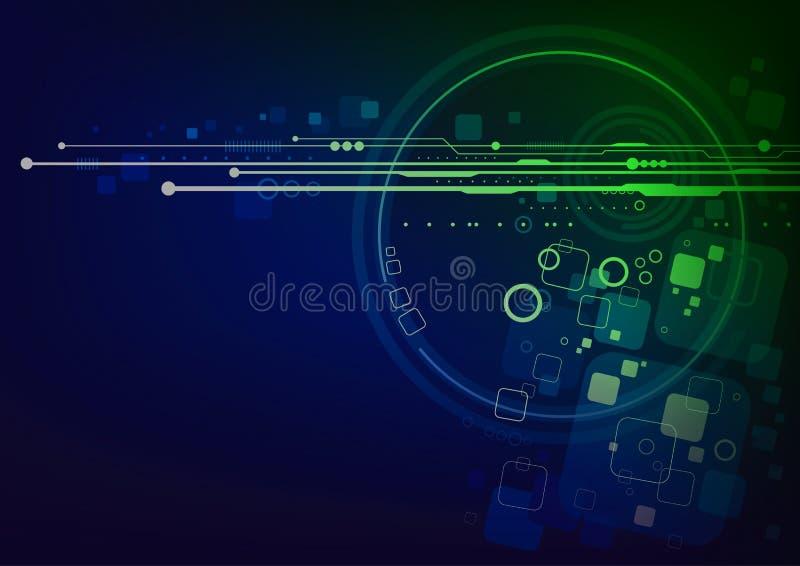 Technologii tła projekt royalty ilustracja