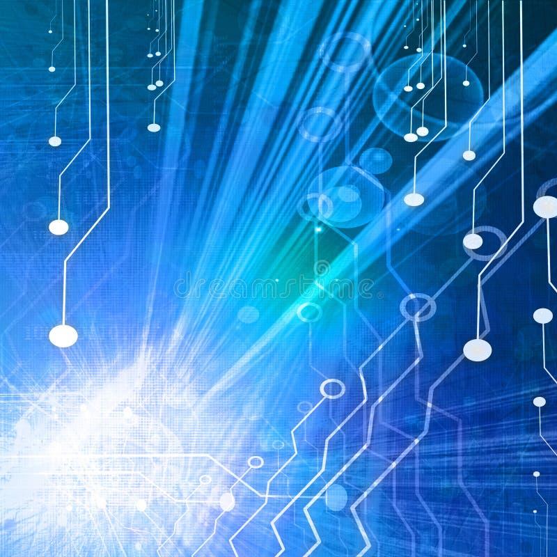 Technologii tło ilustracja wektor