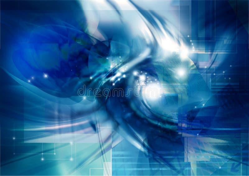 Technologische wereld 2 royalty-vrije illustratie