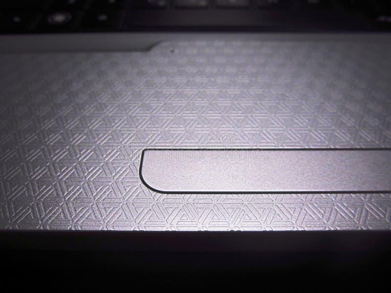 Technologisches Muster auf der Tastatur eines Laptops lizenzfreies stockfoto