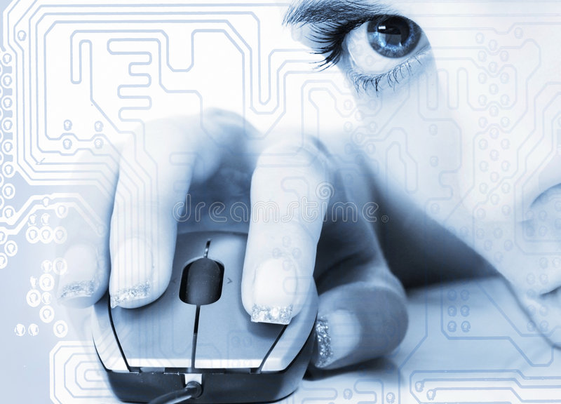 Download Technology stock image. Image of learning, face, computer - 6896673