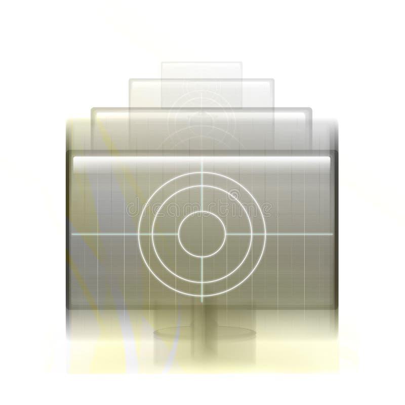 Technology abstract stock illustration