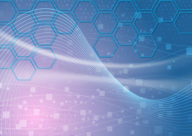 Technology Abstract Background - Hexagon Stock Photos