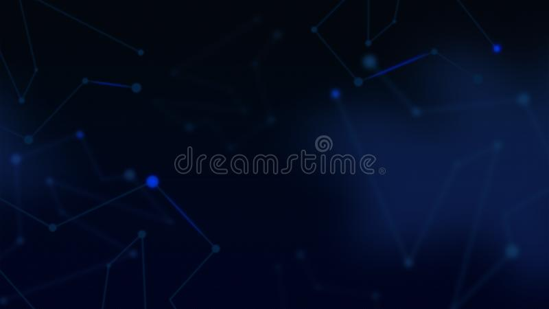 Technology Abstract background, modern corporate backdrop stock image