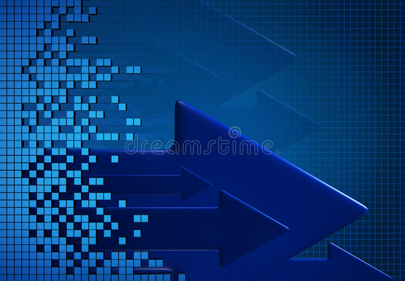 Download Technology background stock illustration. Illustration of arrow - 13645150