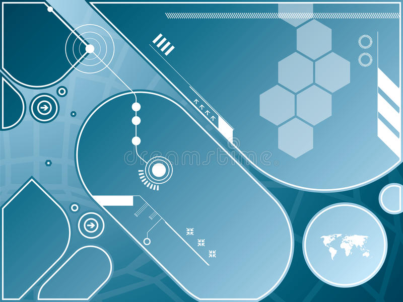 Download Technology background stock image. Image of concept, graphic - 17783769