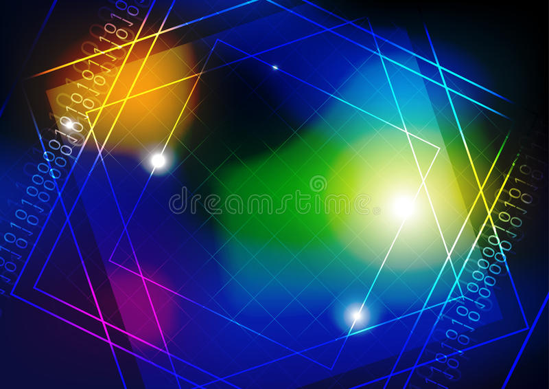Download Technology background stock vector. Image of storage - 26526452
