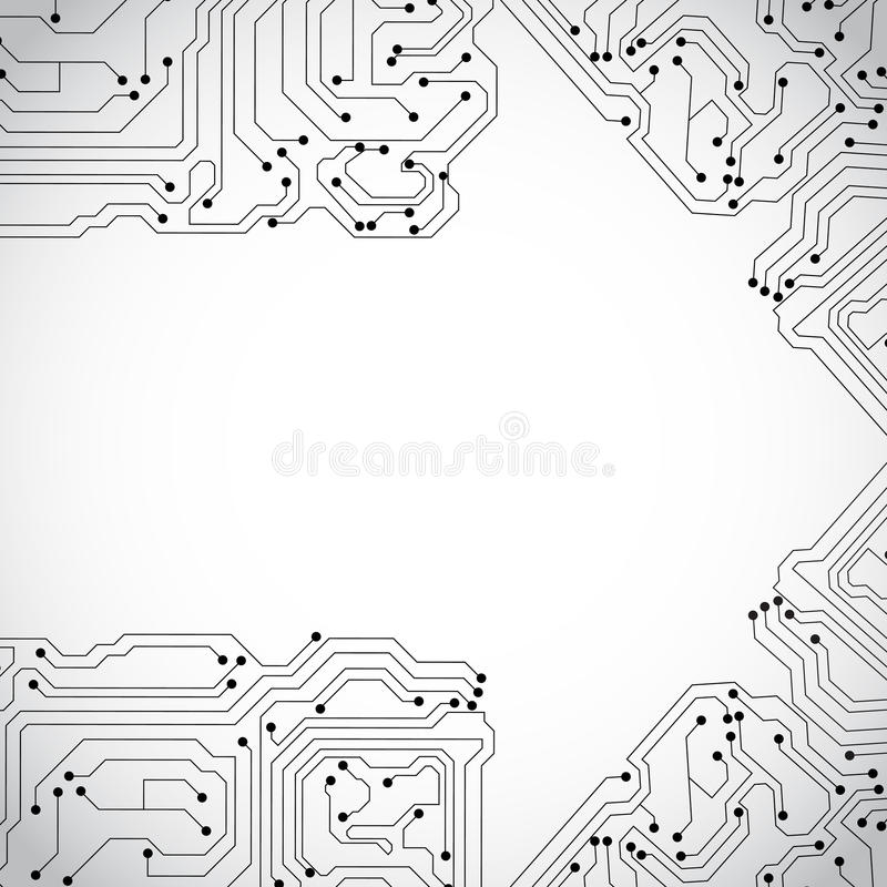 Download Technology background stock vector. Illustration of dots - 28614114