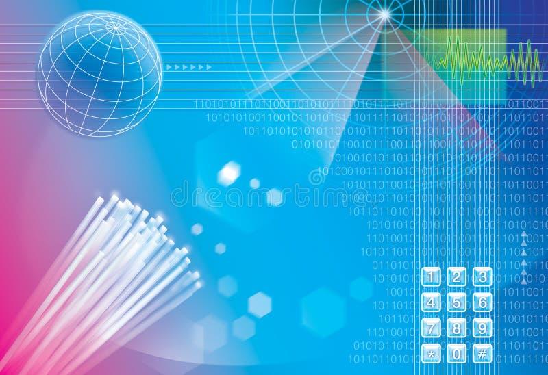 Technology background. Illustration for technology connection background stock illustration