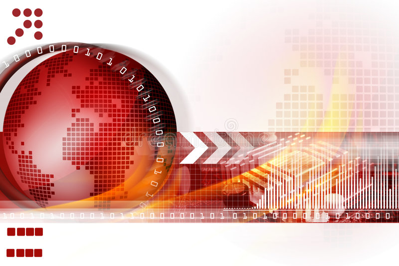 Download Technology background stock illustration. Image of glow - 4237984