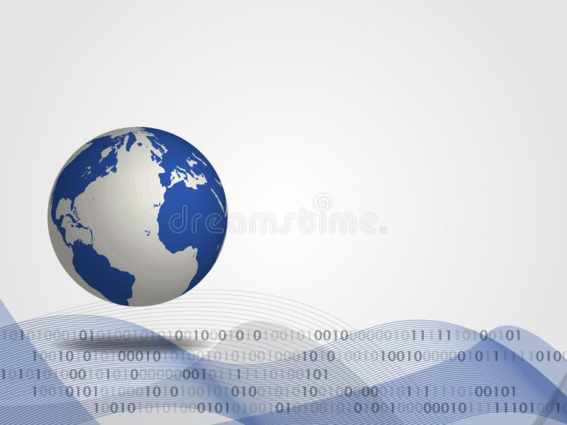 download technology background 3d world map with digital background for technology concept and global connection