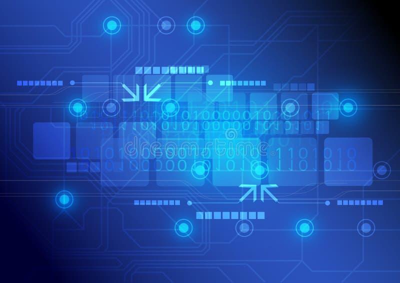 Download Technology Background Design Stock Vector - Illustration of satellite, digital: 26747842