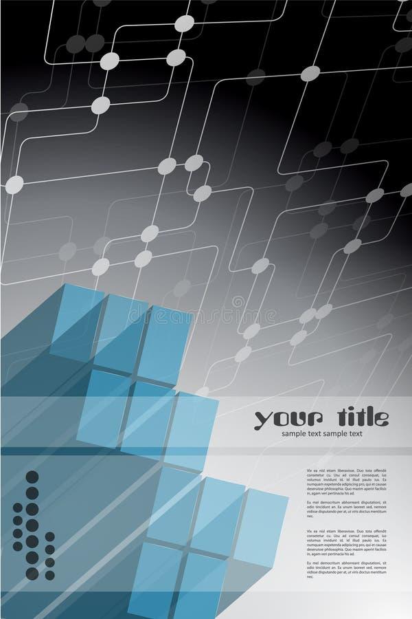 Technology background design stock illustration