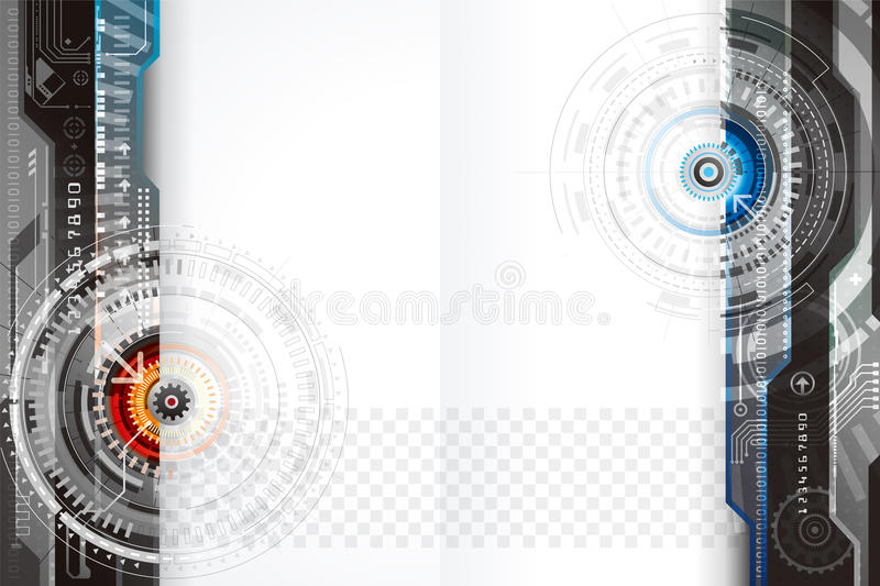 Technology Background Design royalty free stock images