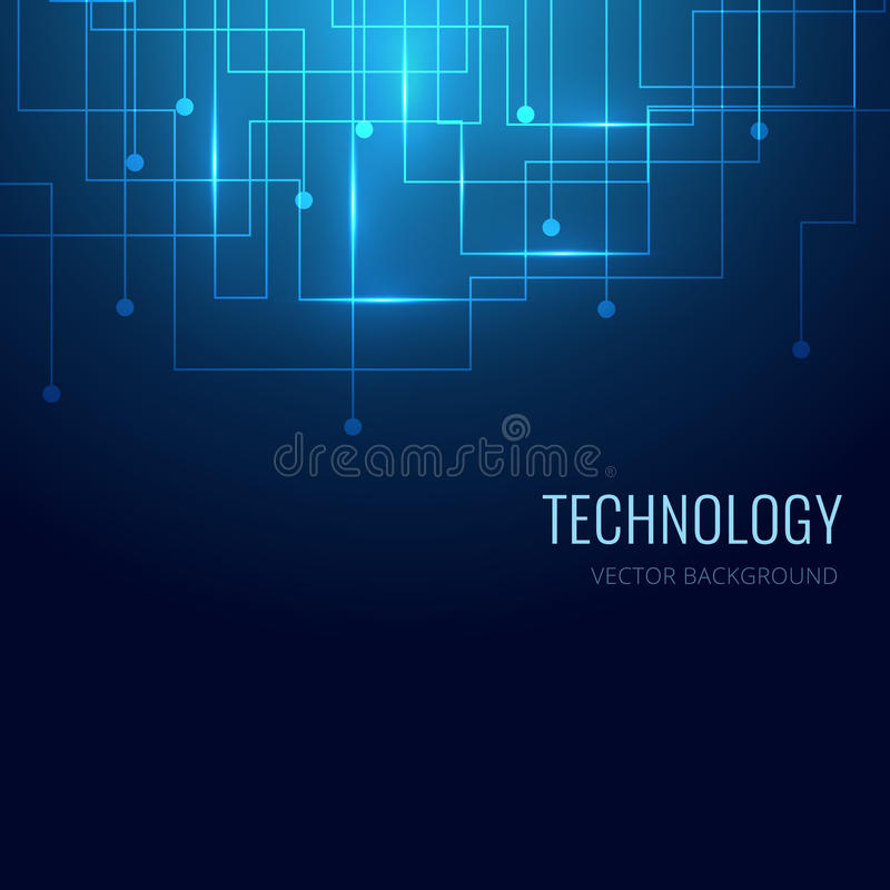 Technology background. EPS10 vector background stock photography