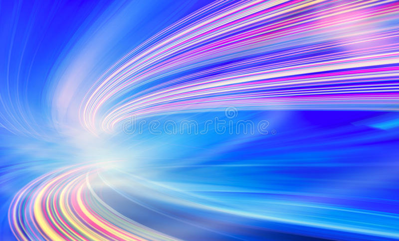 Technology background illustration, abstract speed royalty free illustration