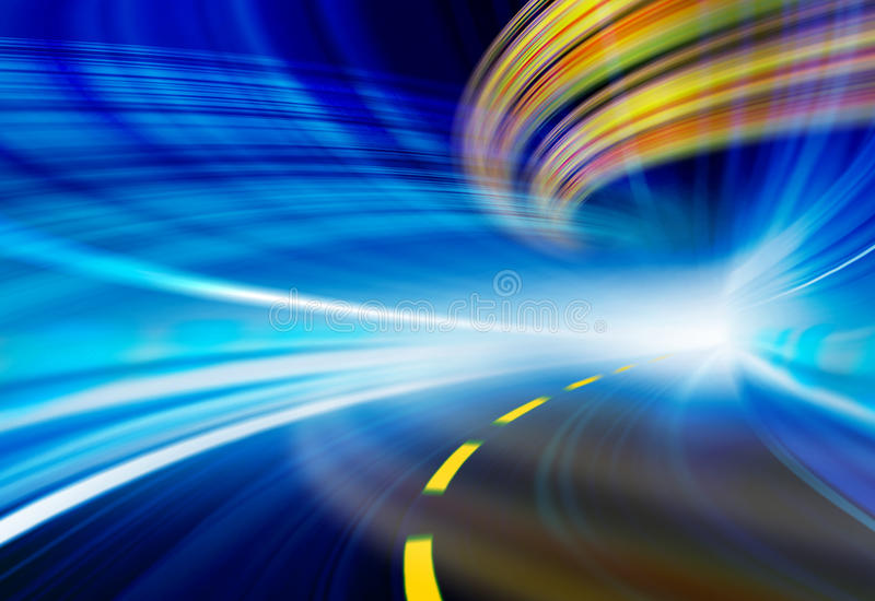 Technology background illustration, abstract speed stock photography
