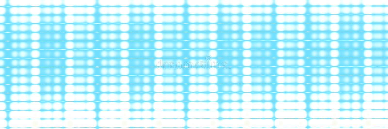 Technology blue widescreen graphic headers stock illustration