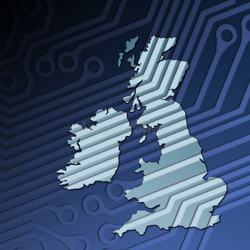 Technology Britain Royalty Free Stock Images
