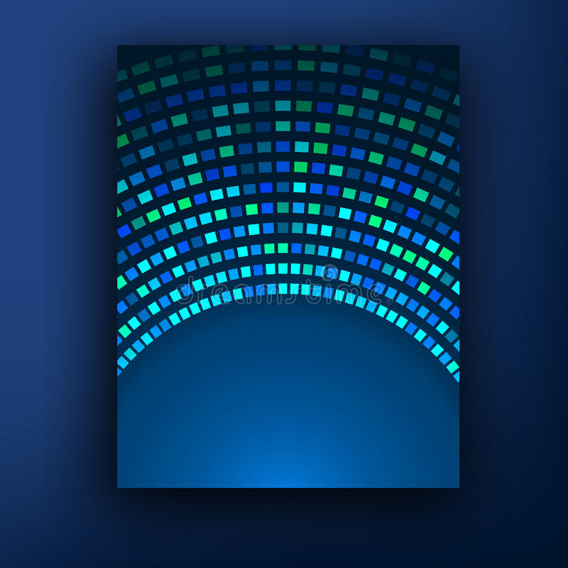 Technology Color Background. Molecules, Atoms And Flashes Of Light ...